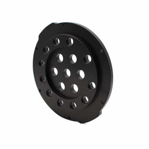 4″ End Cap – Aluminium -18 Holes