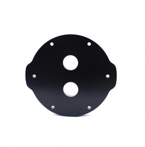 2″ Aluminium End Cap – 2 holes
