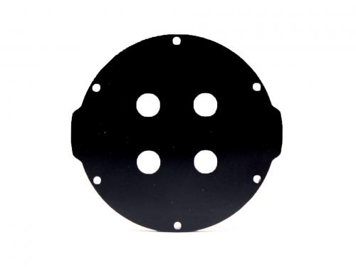 3″ End Cap – Aluminium – 4 holes