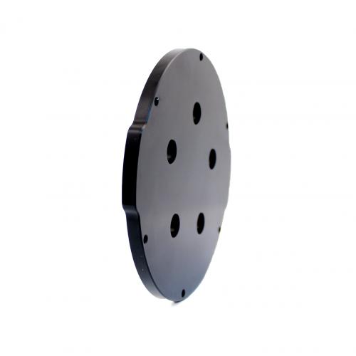 4″ End Cap – Aluminium – 5 holes