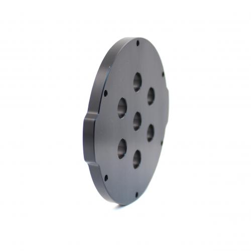 3″ End Cap – Aluminium – 7 holes